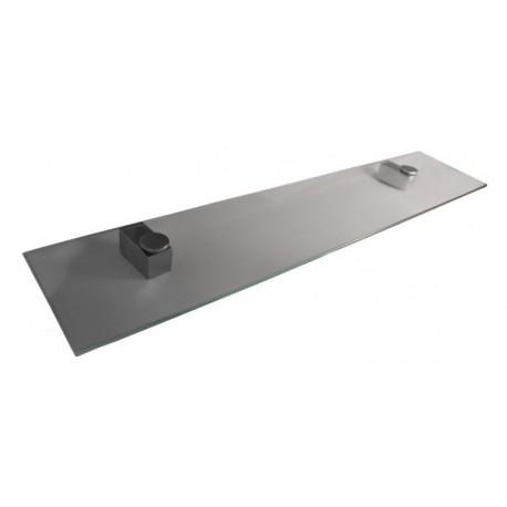 Półka szklana prostokątna