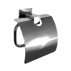 Wieszak na papier toaletowy z osłoną BD-255
