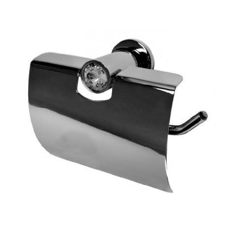 Wieszak na papier toaletowy z osłoną Swarovski Elements BD-355