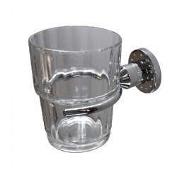 Szklanka z uchwytem Swarovski Elements BD-310SV