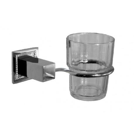 Uchwyt ze szklanką Swarovski Elements BD-210SV