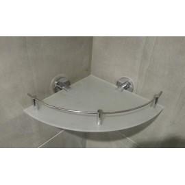 Aqualine półka narożna 25x25cm 302-25-00