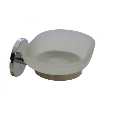 Twin glass soap dish 2408-00-00