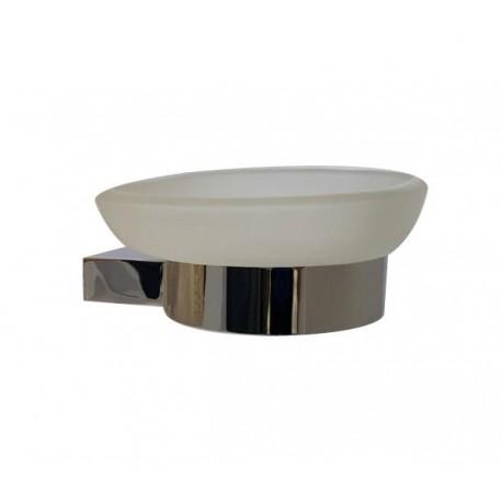Geo glass soap dish 2508-00-00