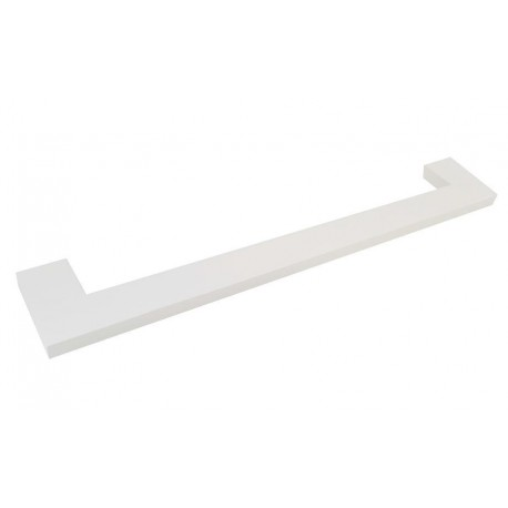 Plan white single towel rack 35cm 2104-35-50