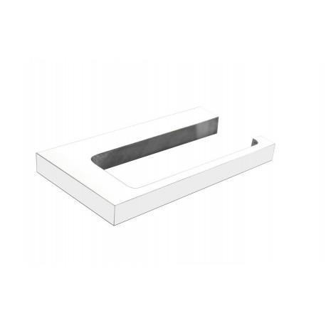 Plan white toilet roll holder 2105-00-50