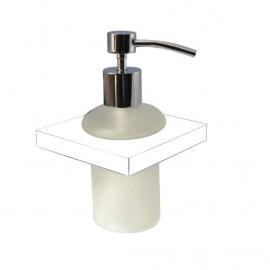 Plan white glass soap dispenser 2188-00-50