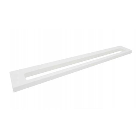 Plan white single towel rack 50cm 2124-50-50