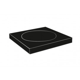 Plan black soap dish 2108-01-40