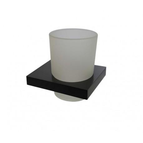 Plan black glass holder 2110-00-40