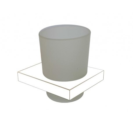 Plan white glass holder 2110-00-50