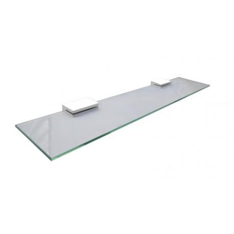 Loft white rectangular glass shelf 60cm 902-01-50