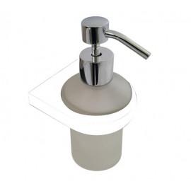 Loft white glass soap dispenser 988-00-50