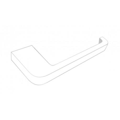Loft biały wieszak na papier toaletowy prosty 905-01-50