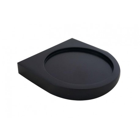 Loft black soap dish 908-01-40